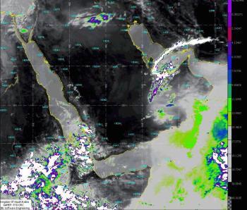 طقس الأحد .. أمطار رعدية ورياح على مناطق المملكة
