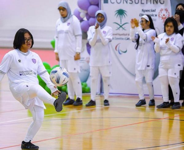 تدشين نادي طويق الرياضي للفتيات ذوات الإعاقة