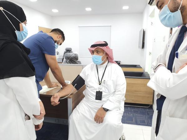 تدشين وحدة تبرع بالدم بـ«صحي سيهات 2»