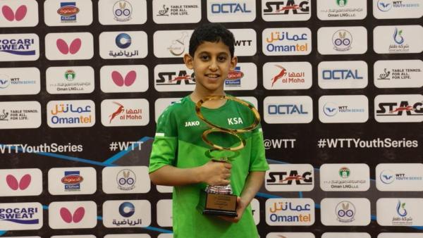 الطاهر يحقق ذهبية بطولة عمان الدولية
