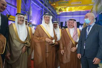 مجموعة الجفالي تشكر سمو وزير الطاقة لرعايته حفل إطلاق شركة سيمنس توسعتها الجديدة في مدينة الدمام