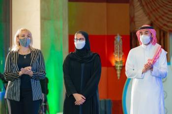 ختام ناجح لأثقال العالم بحضور الفيصل وابن جلويأمريكا في الصدارة وروسيا وصيفاًالسعودية ثالث العالم
