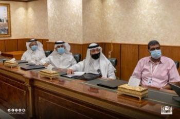 تفعيل مبادرة ساحات المسجد الحرام الخضراء