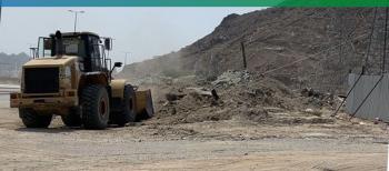رفع 7 أطنان من مخلفات البناء في عزيزية مكة