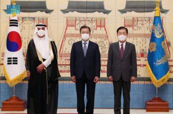 السدحان يقدّم أوراقه سفيراً للمملكة في كوريا الجنوبية
