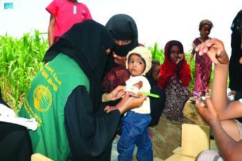 113 ألف مستفيد من دعم التغذية باليمن