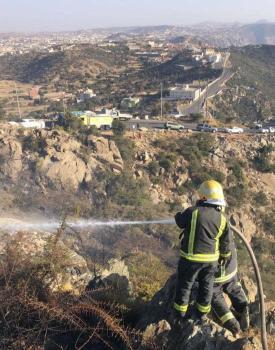 الدفاع المدني : السيطرة على حريق بالنماص ولا إصابات : عاجل