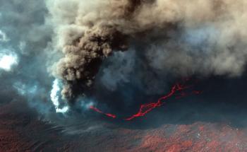 تدمير 1817 مبنى منذ بدء ثوران بركان «لا بالما»