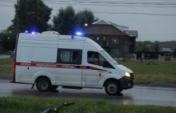إصابة 24 شخصا في حادث سير بروسيا