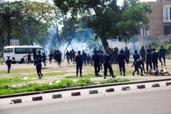 الكونجو.. احتجاجات عنيفة مع اختيار رئيس مفوضية الانتخابات