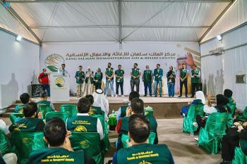 تدشين الحملة التطوعية السادسة في مخيم الزعتري لمساعدة السوريين