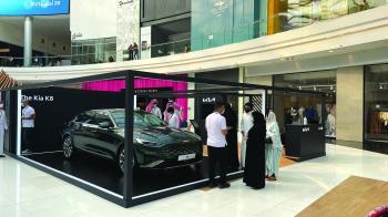 الجبر التجارية تقدم كيا K8 في الرياض بارك