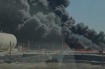 عاجل : حريق في منطقة جبل علي الصناعية بدبي
