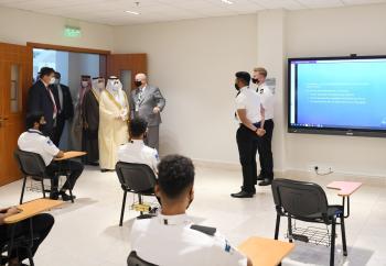 أمير الشرقية يدشن مبنى أكسفورد السعودية للطيران