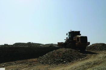 إزالة 7600م2 تعديات على أراض حكومية