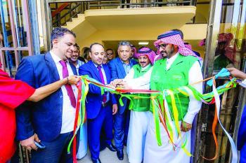 «إعمار اليمن» يفتتح مشاريع تنموية في محافظة عدن