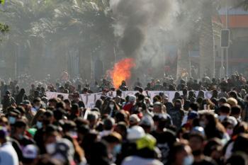 صور.. مظاهرات في تشيلي مع قرب الانتخابات الرئاسية