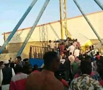 لعبة ملاهي تقتل طفل وتصيب 8 في السودان