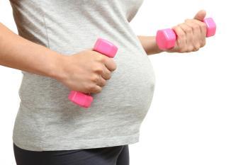 تمارين ممنوعة للمرأة الحامل5