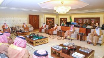 نائب أمير الشرقية يستقبل وكيل وزارة الداخلية ووكلاء إمارات المناطق