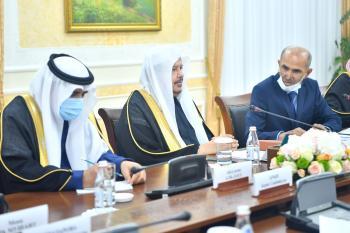 رئيس مجلس الشيوخ الكازاخستاني يشيد بدور المملكة في استقرار العالم