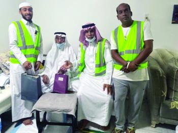 «رضاهم جنة» لتكريم كبار السن بدارين التطوعي
