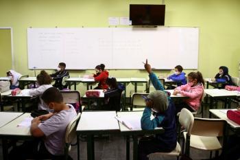 إعادة افتتاح المدارس بعد عام من الاغلاق في سريلانكا
