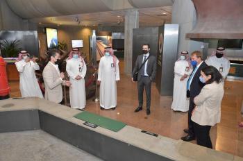 «آل حسين» يلتقي بالسفير الألماني