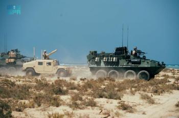 تدريبات قوية.. استمرار التمرين البحري بين القوات السعودية والأمريكية