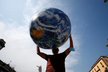 كورونا يمنع مسؤولي الاتحاد الأوروبي من حضور معظم فعاليات قمة المناخ