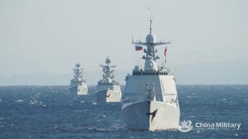 أول دوريات بحرية مشتركة بين الصين وروسيا في المحيط الهادئ
