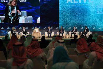 التوازن بين الاستدامة والتنمية الاقتصادية.. جلسة نقاش في «السعودية الخضراء»