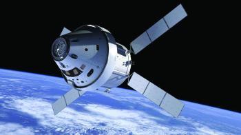 «أوريون» تحلق عند القمر بدون رواد فضاء