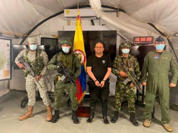 القبض على أخطر زعيم مخدرات بالعالم في كولومبيا