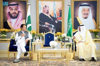 عمران خان يصل الرياض للمشاركة في قمة الشرق الأوسط الأخضر