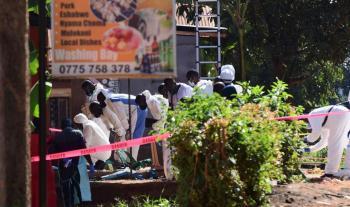 قنبلة محشوة بالمسامير تقتل إمرأة في أوغندا