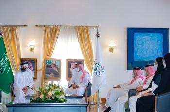 وزير الرياضة يترأس الوفد السعودي في اجتماعات الانوك