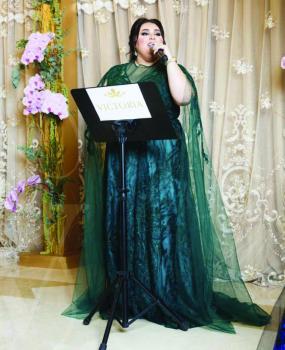 دموع تحسين: سأتصدر مع موضي الشمراني حفلات الأعراس بالمملكة