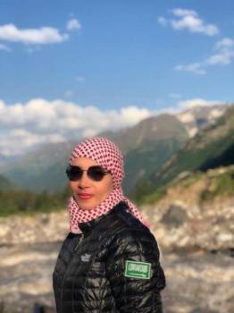 شيرين أبو الحسن تنضم لاتحاد التجديف