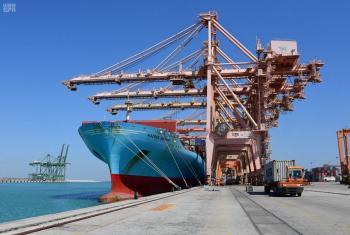 ارتفاع الصادرات السلعية بنسبة %58.9 في أغسطس الماضي