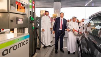 تدشين أولى محطات الشبكة المشتركة لبيع الوقود بالتجزئة في المملكة