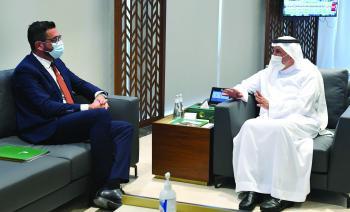 الدكتور الربيعة يبحث الشؤون الإنسانية مع وزير خارجية هندوراس