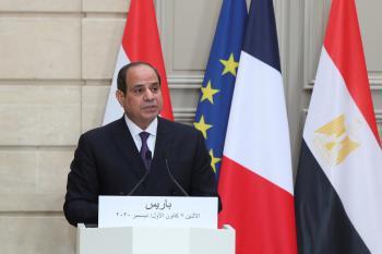 الرئيس المصري يعلن إلغاء حالة الطوارئ في البلاد
