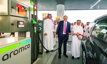 أرامكو تدشن أولى محطاتها المشتركة لبيع الوقود