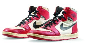 حذاء أسطورة كرة السلة بـ 1.5 مليون دولار