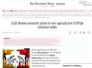 الإعلام الدولي: مصير الاقتصاد العالمي مرهون بنجاح قمة G20