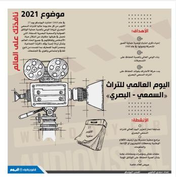اليوم العالمي للتراث «السمعي - البصري»