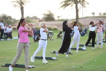 قولف السعودية تعلن استمرار «السيدات أولاً»