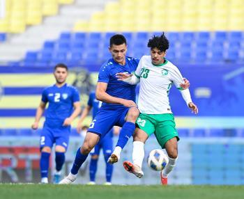 الأخضر الأولمبي يواجه الكويت السبت