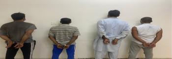 ضبط 4 مقيمين قاموا بالسطو على مرفق عام بالقصيم